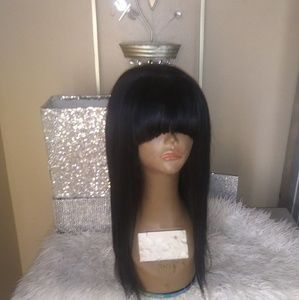 100%  Virgin Hair Custom Made Wig16in